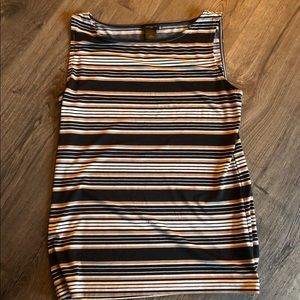 XS Striped Ann Taylor Tank